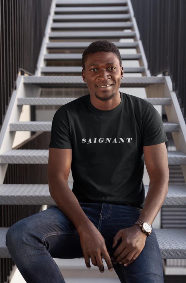 Saignant T shirt Strictly hospitality (2)